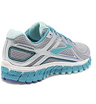 Brooks Adrenaline GTS 16 - scarpa running donna, Silver/Light Blue
