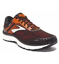 Brooks Adrenaline GTS 18 - Laufschuh Stabil - Herren, Black/Orange