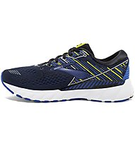 Brooks Adrenaline GTS 19 - scarpe running stabili - uomo, Black/Blue