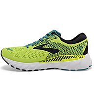 Brooks Adrenaline GTS 19 - scarpe running stabili - uomo, Green/Yellow