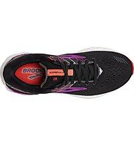 Brooks Adrenaline GTS 19 W - Laufschuh Stabil - Damen, Black/Pink