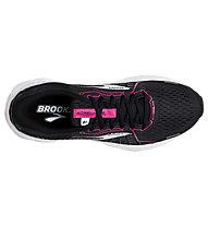 Brooks Adrenaline GTS 21 - Stabillaufschuh - Damen, Black/Pink