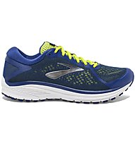 Brooks Aduro 6 - neutraler Laufschuh - Herren, Blue/Yellow