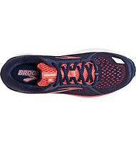Brooks Aduro 6 W - scarpe running neutre - donna, Blue/Orange
