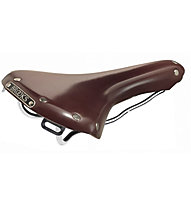 Brooks England B15 Swallow Chrome - Fahrradsattel, Brown