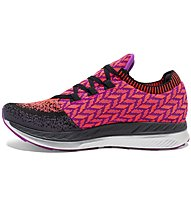 Brooks Bedlam W - Laufschuh Stabil - Damen, Black/Pink