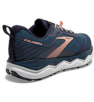 Brooks Caldera 4 - Trailrunningschuh - Damen, Blue/Orange