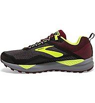 Brooks Cascadia 14 - scarpe trail running - uomo, Black/Red