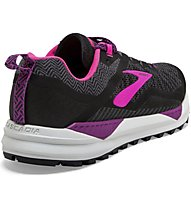 Brooks Cascadia 14 - scarpe trail running - donna, Black/Pink