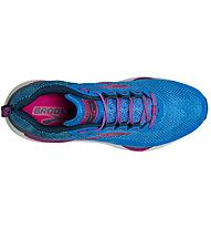 Brooks Cascadia 14 - Trailrunningschuh - Damen, Blue/Pink