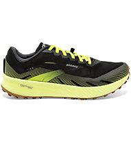 Brooks Catamount - Trailrunningschuh - Herren, Black/Yellow