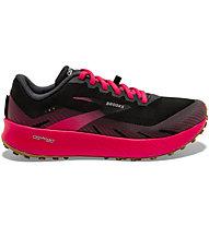 Brooks Catamount - scarpe trail running - donna, Black/Red