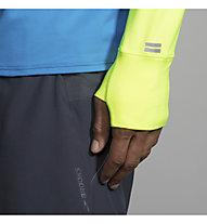 Brooks Dash 1/2 Zip - Pullover mit Reißverschluss Running - Herren, Yellow/Blue