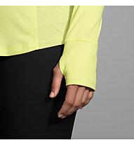Brooks Dash 1/2 Zip - Laufpullover mit Reißverschluss - Damen, Yellow/Grey