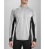 Brooks Dash Long Sleeve - maglia running, Grey/Black