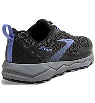 Brooks Divide - Trailrunningschuh - Damen, Grey/Black
