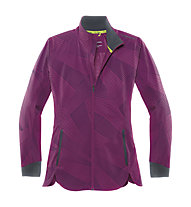 Brooks Drift Shell giacca running donna, Currant Big Sunshine