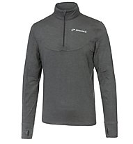 Brooks Essential 1/2 Zip III - maglia running, Grey