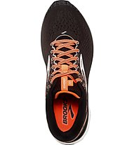 Brooks Ghost 11 - Laufschuhe Neutral - Herren, Black/Orange
