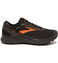 Brooks Ghost 11 GTX - Laufschuhe Neutral - Herren, Black/Orange