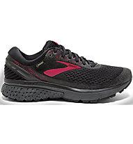 Brooks Ghost 11 GTX - scarpe running neutre - donna, Black/Pink