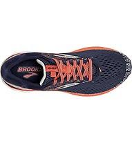 Brooks Ghost W - Laufschuh Neutral - Damen, Blue/Orange