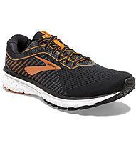 Brooks Ghost 12 - scarpe running neutre - uomo, Black/Orange