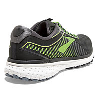 Brooks Ghost 12 - scarpe running neutre - uomo, Black/Green