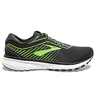 Brooks Ghost 12 - Laufschuhe Neutral - Herren, Black/Green