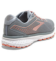 Brooks Ghost 12 - Laufschuhe Neutral - Damen, Grey/Orange