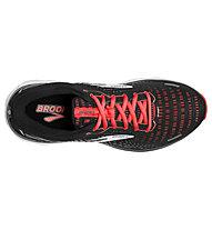 Brooks Ghost 13 - Neutrallaufschuh - Damen, Black/Red