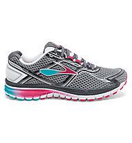 Brooks Ghost 8 - scarpa running donna, Grey/Pink