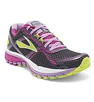 Brooks Ghost 8 - scarpa running donna, Anthracite/Fuchsia