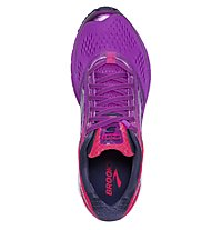 Brooks Ghost 9 W Neutralschuh Damen, Violet/Pink