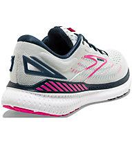 Brooks Glycerin 19 GTS - scarpe running stabili - donna, White/Blue/Pink