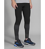 Brooks Greenlight Tight- Laufhose - Herren, Black/Grey