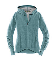 Brooks Joyride Hoodie Frauen, Heather Kale/Oxford