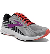 Brooks Launch 6 W - Laufschuh Neutral - Damen, Grey/Pink