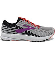 Brooks Launch 6 W - scarpe running neutre - donna, Grey/Pink