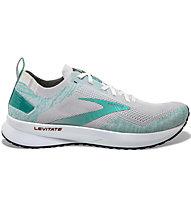 Brooks W Levitate 4 - Laufschuhe Neutral - Damen, Grey/Green