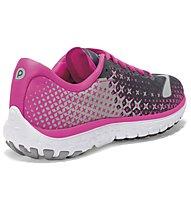 Brooks Pureflow 5 W - Damenlaufschuh, Anthracite/Pink Glow