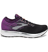 Brooks Ricochet W - scarpe running neutre - donna, Black/Pink