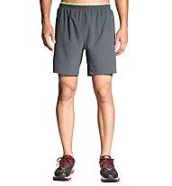 "Brooks Sherpa 7"" 2-in-1 pantaloni corti running, Grey"