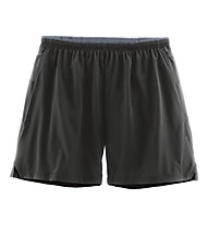 "Brooks Sherpa 7"" 2-in-1 - pantaloni corti running - uomo, Black"