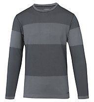 Brooks Streaker Long Sleeve Laufshirt Langarm Herren, Grey