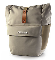 Brooks England Borsa posteriore bici singola Suffolk Rear Travel Panniers 18-22 l, Dove (Brown)