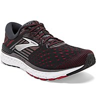 Brooks Transcend 6 - Laufschuh Stabil - Herren, Black/Red