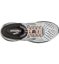 Brooks Transcend 6 - Laufschuh Stabil - Damen, Light Grey/Rose