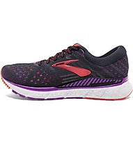 Brooks Transcend 6 W - scarpe running stabili - donna, Black/Pink