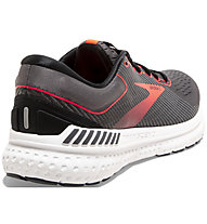 Brooks Transcend 7 - Laufschuh Stabil - Damen, Grey/Red